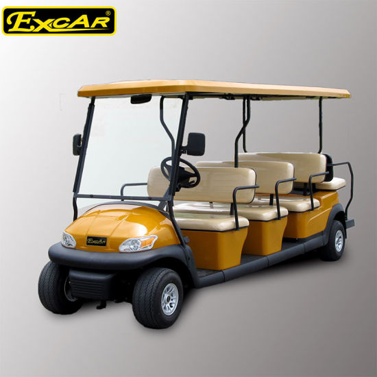 Ce Approve 11 Seaters Electric Sightseeing Car for Airport pictures & photos