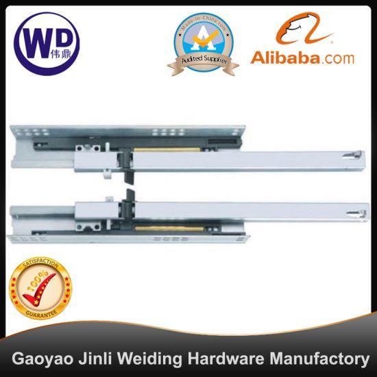 SL-2507 16mm Tool Box Side Triple Extension Heavy Duty Drawer Slide