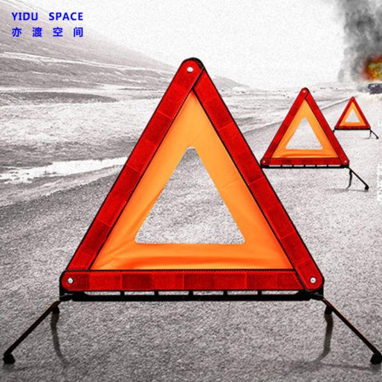 Wholesale Road safety Emergency Reflective Folding Auto Car Warning Triangle