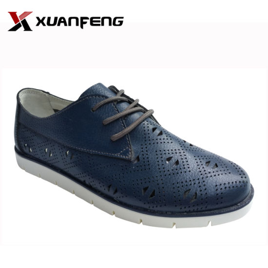 Fashion Women's Genuine Leather Dress Casual Shoes