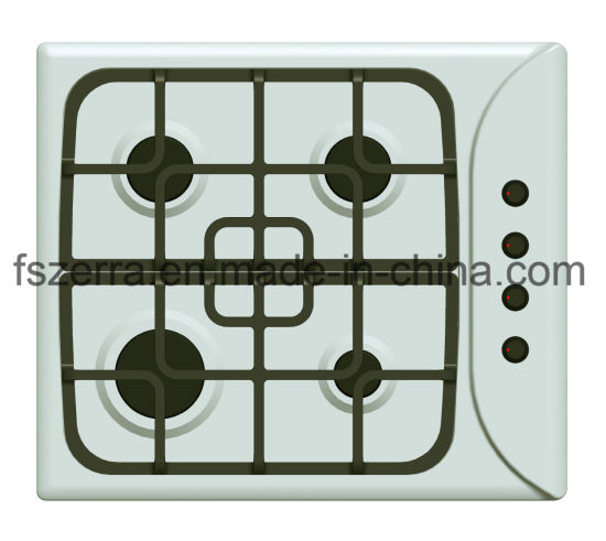 Kitchen Equipment Stainless Steel with Safety Device Gas Hob Jzs54103A pictures & photos