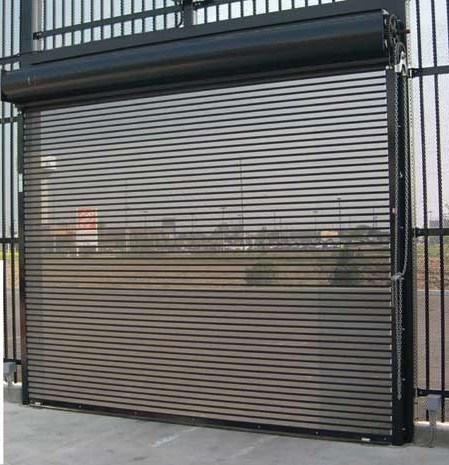 China Commercial Micro Perforated Roller Shutter Door