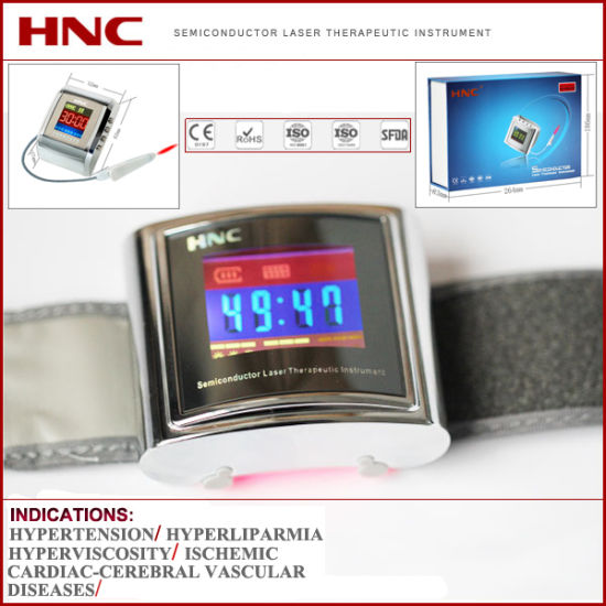 Home Healthcare Hypertention High Blood Glucose Laser Treatment Apparatus pictures & photos