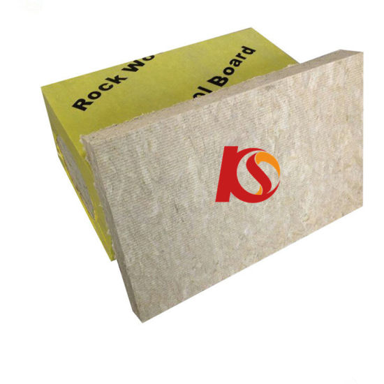 80 Kg/M3 Mineral Rockwool Insulation for Roof