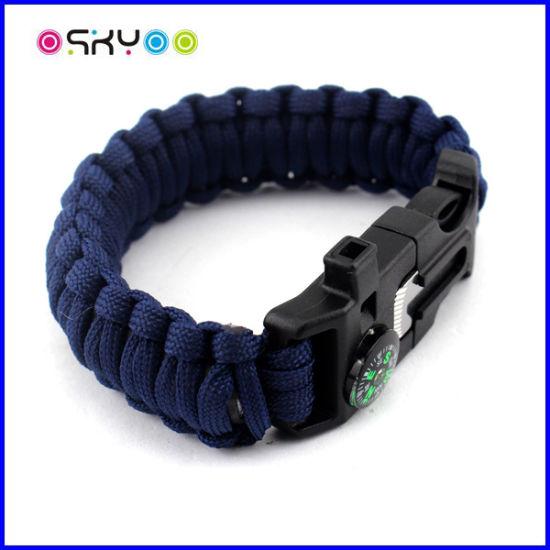 7 Core 550 Survival Kit Paracord Cord Bracelet