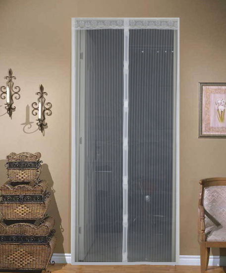 Magnetic Anti Mosquito Screen Door Mesh Net Magic Hands-free Bug Door Curtain