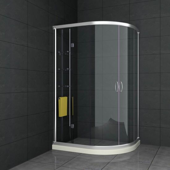 4mm Bathroom Tempered Glass Shower Glass pictures & photos