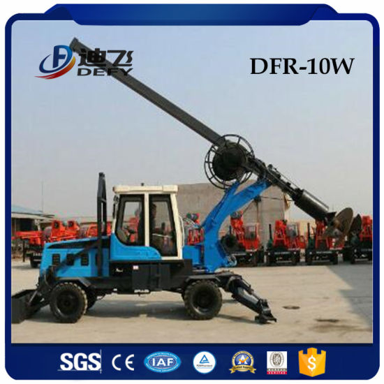 Dfr-10W Truck Mounted Piling Rig for Sale