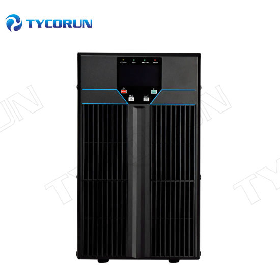 Tycorun Single Phase Low Voltage UPS Tower/Rack Mounted 1kVA/2kVA/3K/Va/6kVA/10kVA 110V/208VAC Online UPS Uninterruptible Power Supply