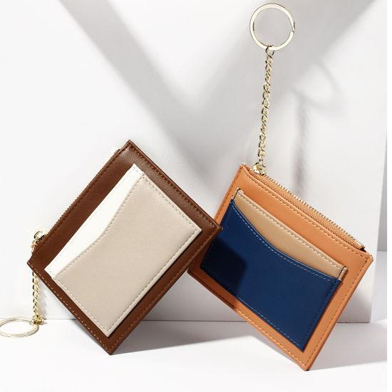 Multi Color PU Card Holder and Keyring