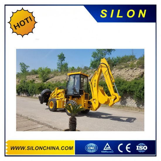 Silon Backhoe Loader with Cummins Engine (WZ30-25) pictures & photos