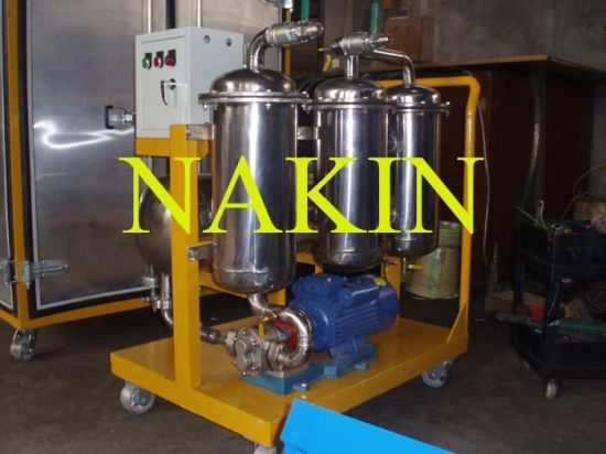 Series Tj Coalescence-Separation Fuel Oil Filtration Machine pictures & photos