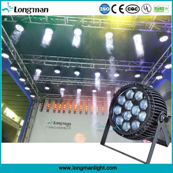 Outdoor 9~58° Zoom 12*15W Ostar LED PAR Light Stage Lighting