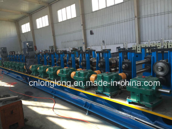 High Speed and Accuracy Greenhouse Steel Structure Roll Forming Machine with ISO 9001: 2008 pictures & photos
