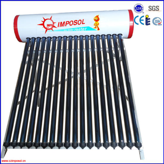 High Quality Galvanized Steel Pressurized Solar Water Heating pictures & photos