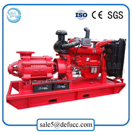 Multistage Diesel Engine Centrifugal Irrigation Pump for Agricultural pictures & photos
