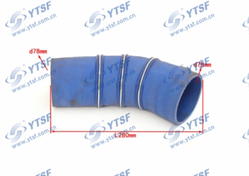 High Quality Truck Parts FAW Intercooler Pipe