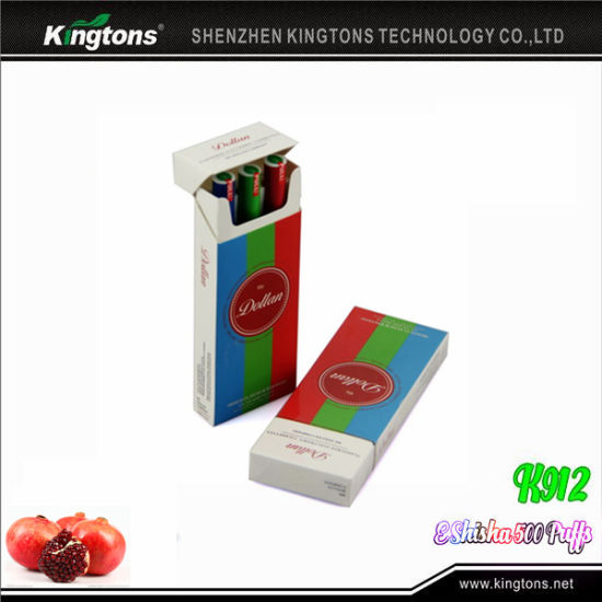 Kingtons 500 Puffs Hookah Shisha with Wholesale Price pictures & photos