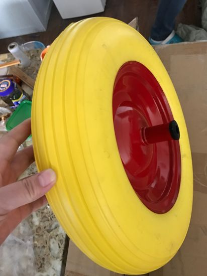 PAHs Free PU Wheel for Germany and Italy pictures & photos