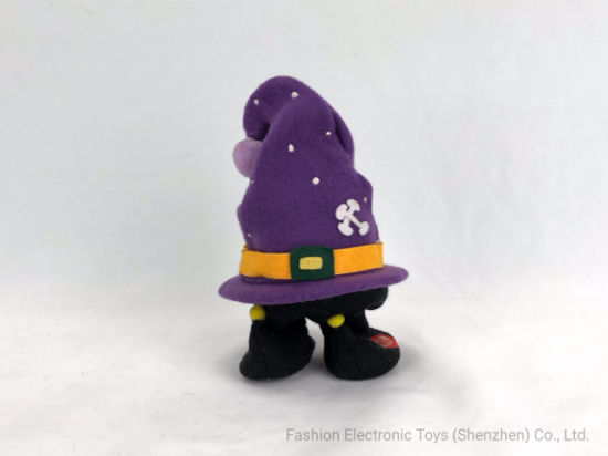Christmas Hat Witch Electric Toy Halloween Stuffed pictures & photos