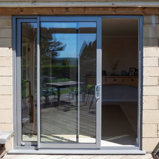 China Copper And Aluminum Patio Door