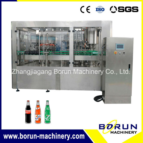 Complete Carbonated Soft Drinks Filling Line with Beverage Mixing Machine pictures & photos