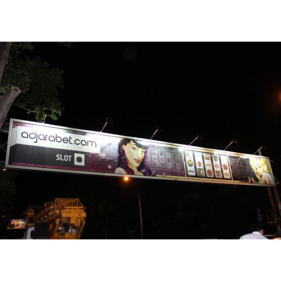 Outdoor Street-Crossed Trivision Billboard (F3V-131S)