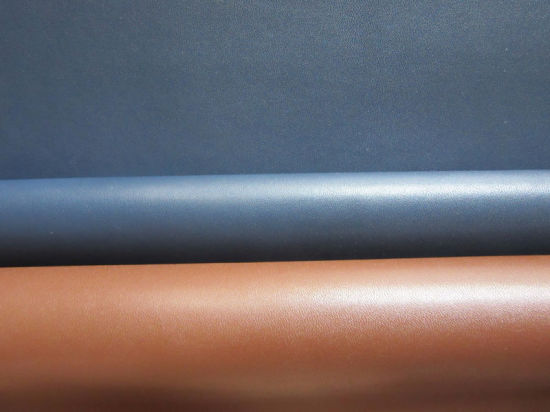 New 1.25mm Semi-Microfiber PU/Synthetic Leather for Shoes and Bags (BGF110-XXET)