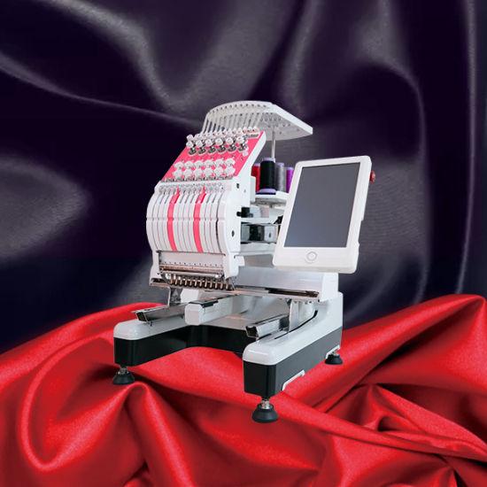 China Computerized Single Head Flat Embroidery Machine