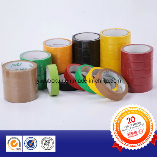 China Factory Custom Printed Masking Tape Any Size and Color OEM Logo Printed pictures & photos