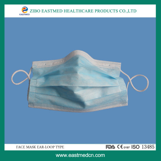 - Disposable China Ce Mask iso Face Surgical With