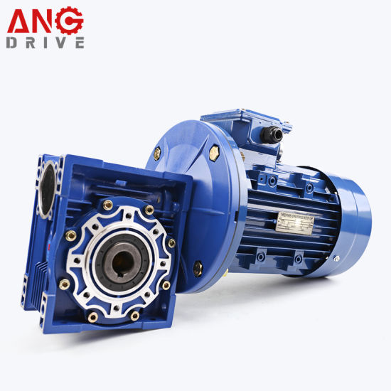 Aluminum & Cast Iron Housing Nmrv Worm Gearboxes Manufacturers