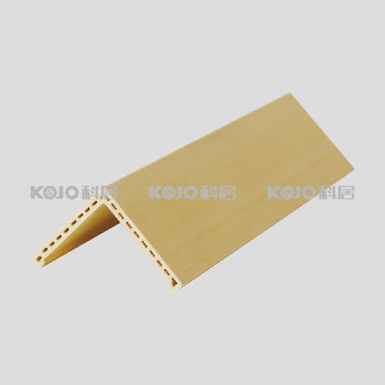 Wood Plastic Composite WPC Wall Decorative Material Corner Protector (PJ-5555)