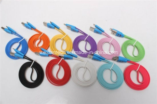 Colorful Lightning to USB Cable pictures & photos