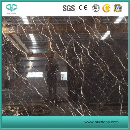 Professional Supplier of St. Laurent/Emperador/Cindy Grey/Nero Marquina Marble Slabs pictures & photos
