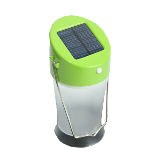 Portalbe Solar Camping Lantern with CE&RoHS pictures & photos