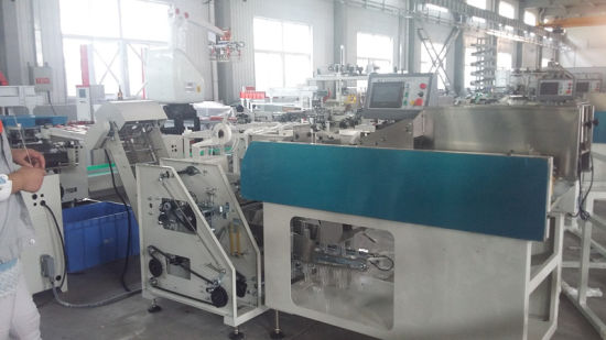 Full-Automatic Packing Machine with 8 Lines of Weighing & Bundling Machine pictures & photos