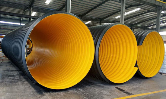 High Quality Corrugated Pipe Krah Pipe Plastic HDPE Carat Pipes