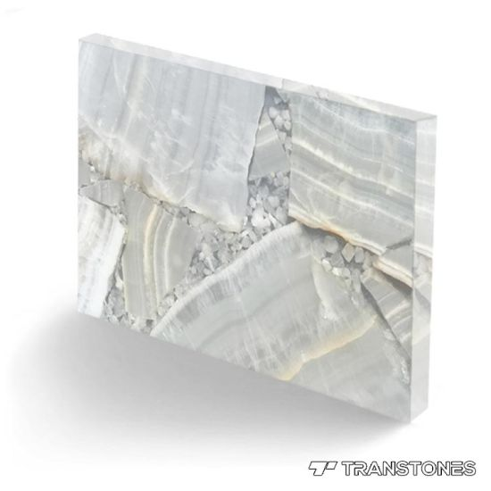 Translucent Faux Onyx Sheet for Column & Wall Panels