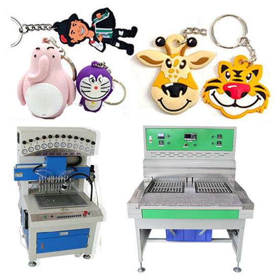 Liquid Silicone PVC Products Making Machine Oven for Label/Rubber Patch/Keychain