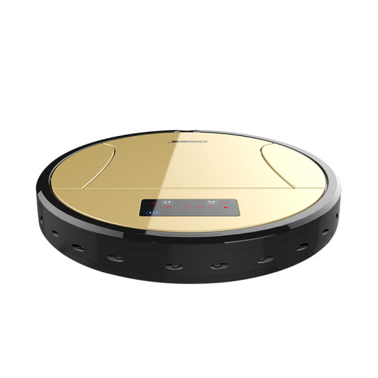 Long Working Time HEPA Filter Cleaning Appliances WiFi APP OEM Robot Vacuum Cleaner