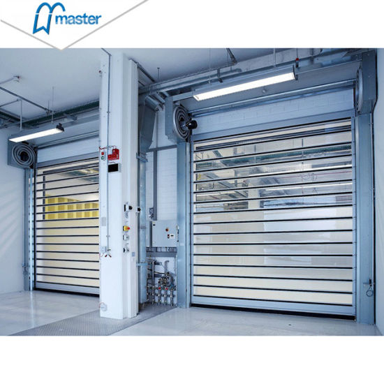 Industrial Spiral Automatic Aluminum Rolling High Speed Doors