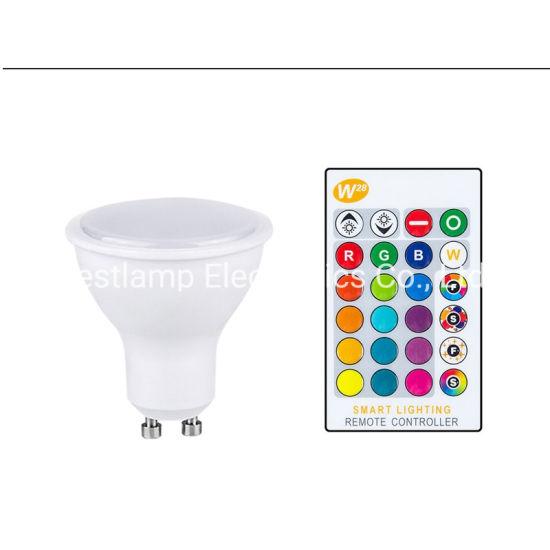 LED Bulb Light GU10 LED Spotlight RGB