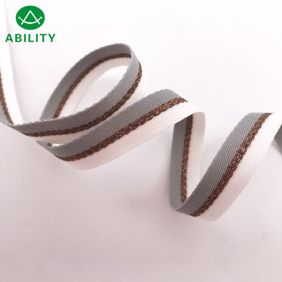 2019 Hot Sale Beautiful Fashion Popular Webbing Ribbon Tape for Fashion Cloth Without Print