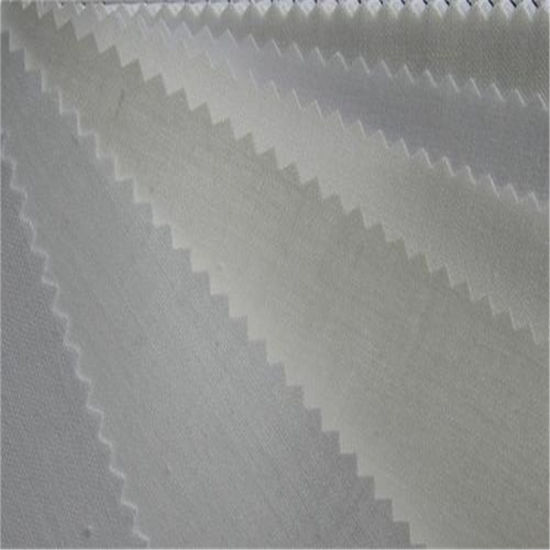 Wholesale Apparel Accessory Woven Interlining T/C Fabric for Shirt Collar