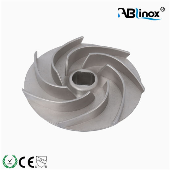 Stainless Steel CF8m Impeller Part Investment Casting