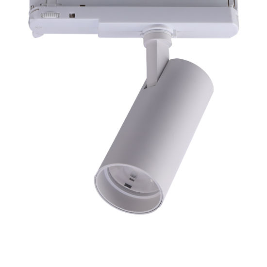 High Quality Pure Aluminum 20W Dimmable LED Track Spot Lamp with 5 Year Warranty
