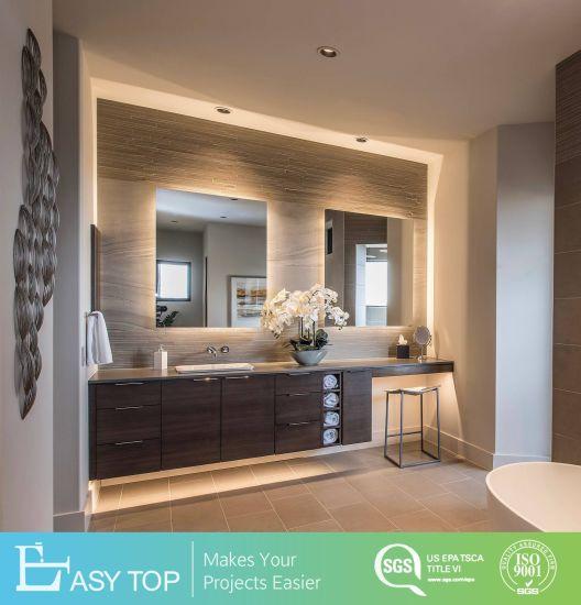 Hotel Project Italian Designer Wholesale Modern Bathroom Mirror Cabinet