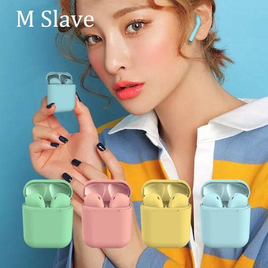 Best Inpods12 Marcaron Tws True Wireless Headphone Wireless Earbuds