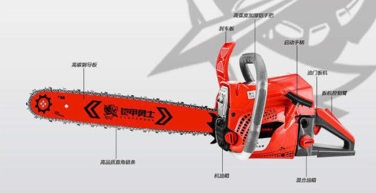 Petrol Gasoline Chain Saw Kjys8888 High Quality for Whole Sale